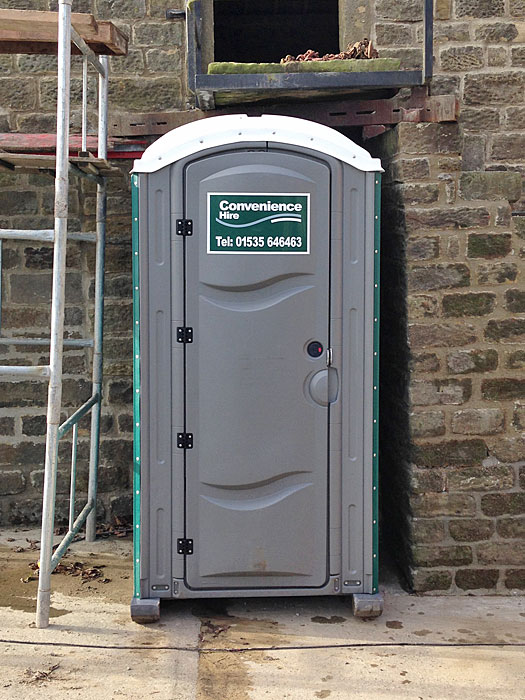 Portable toilet unit