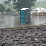 Rain stops play at a Yorkshire festival