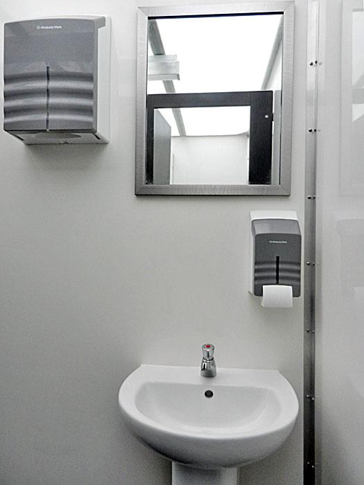 Large events toilet trailer